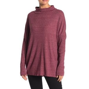 NWT ABOUND Long Sleeve Ribbed Knit Tunic